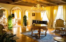 Hotel Istana Gambar Meja Vila Rumah Besar Bulat Pedalaman Istana Eropah