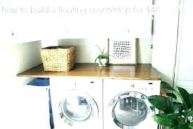 spring carnival countertop laundry laundry room