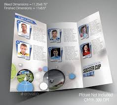 soccer team brochure template tri fold brochure template free sports 14 basketball brochure