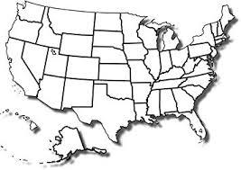 Amazon Com Home Comforts Laminated Map Free Printable Blank Us