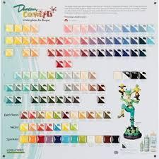 Duncan Concepts Color Chart Duncan Cover Coat Opaque Underglazes Tile Chart In 2019