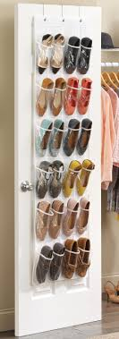 Shoe Organization Amazoncom Whitmor Otd Shoe Bag 24 Pocket White Crystal Home