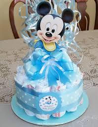 Mickey Mouse Baby Shower  CimvitationBaby Mickey Baby Shower Cakes