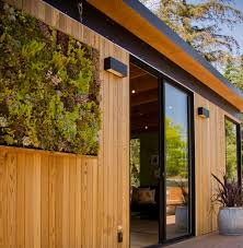 Above: Prices for Modern Cabana's wood-sided, pre-fabricated sheds range  from $11,500 (for the smallest, unassembled shed kit) to $38,400 for a 12-  by ...