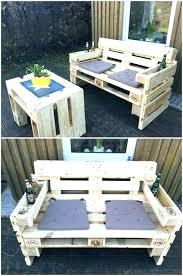 garden furniture made of pallets. Outdoor Furniture Made From Pallets Out Of Wooden Patio . Garden O