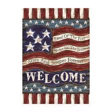american garden flag. Interesting American American Flag Decorative Outdoor U0026 Indoor Flags 100 Polyester Custom Garden  Home Yard Banner To N