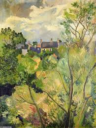 view from my window in genets brittany 1922 by suzanne valadon 1865 1938 france famous paintings