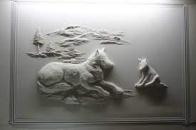 drywall worker creates stunning 3d art