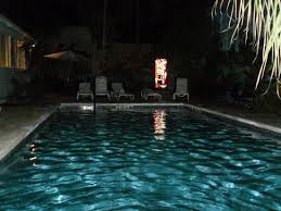 Private pool at night Picture of Rose Lane Villas Key West