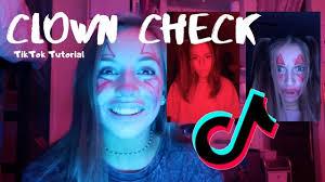 clown check tiktok tutorial you