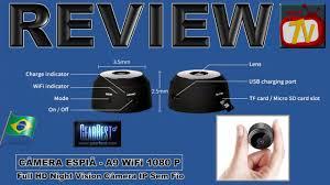 REVIEW - CÂMERA ESPIÃ - <b>A9 WiFi</b> 1080 P Full HD Night Vision ...