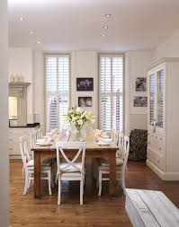 Country dining room ideas Country Style White Country Dining Room Lonny White Country Dining Room Dining Room Decorating Ideas Lonny