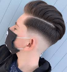 Several men are trading in the typical short cut for this edgy high fade—featuring clean sides fading into a shapely beard. 50 Short Haircut For Men New Hairstyles Best Ideas 8 Arabic Mehndi Design