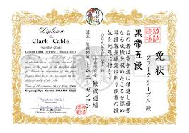 Martial Arts Certificate Templates Martial Arts Certificate Templates Word Templates Resume