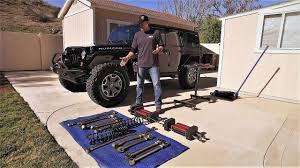 jeep wrangler jku suspension upgrade game changer 6pak diy metalcloak lift kit you