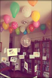 birthday room decoration ideas for husband image inspiration of