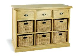 cabinets with baskets. wood storage cabinets with wicker baskets uk furniture cottage oak