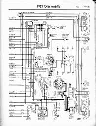 oldsmobile wiring diagrams the old car manual project a wiring diagram shows the 1963 f 85 right page