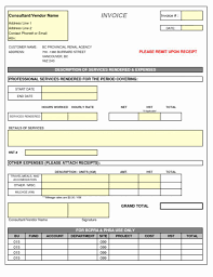 Attorney Billing Statement Invoice Template Templat Excel Legal