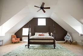 Sloped Roof Bedroom Painting Rooms With Slanted Ceilings