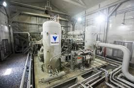gas compressor station. joe ulrich/ witf permalink gas compressor station
