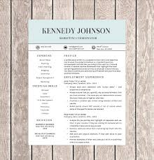 Pages Templates Resume Interesting 48 One Page Resume Templates Free Samples Examples Formats