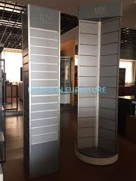 Painting Display Stands Rotate Round Wooden Display Stands For Mosaic Selling Painting Display 46