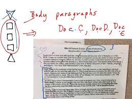 writing body paragraphs body paragraphs clarification dbq