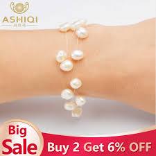 <b>ASHIQI Natural</b> Freshwater Baroque Pearl <b>Layered</b> Necklace ...