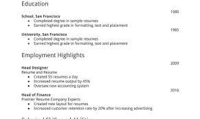 Free Printable Resume Builder Free Resume Builder And Print Online Krida 49