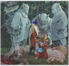 """Hobbit jest głównymi bohaterami pamiętnika czytelnika. Tolkien """"hobbit,  czyli tam iz powrotem"""" - podsumowanie. Rozdział: Witamy"""