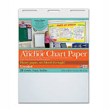 Where To Buy Chart Paper Pacon Pac3371 Heavy Duty Anchor Chart Paper Unruled 24