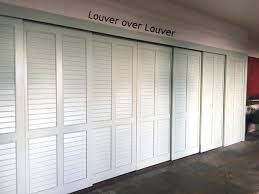 louvered closet doors louver plantation louvered sliding closet doors