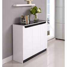 shoes cabinets furniture. Maestro Shoe Cabinet - White High Gloss W Black Glass Shoes Cabinets Furniture