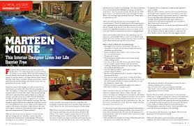 Interior Design Magazine Articles I Was In A Magazine Marteen Moore