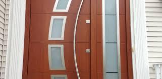 Steel Glass Panel Exterior Door • Exterior Doors Ideas