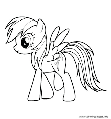 My Little Pony Coloring Pages To Print My Little Pony Coloring Pages