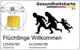 Bildergebnis für Gesundheitskarte für Flüchtlinge
