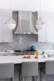 Kitchen Counter And Backsplash Ideas Classy Stunning Kitchen Boasts White Shaker Cabinets Paired With White