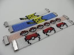 Bead Loom Bracelet Patterns New Fanime Bead Loom Bracelet Pokemon By Bobauna On DeviantArt