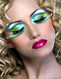a selection of make up for the carnival liengt you