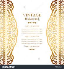 doc invitation card background design background invitation vintage gold background design elegant book vector 173577347 invitation card background design
