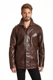 4 on lambskin leather car coat zoom