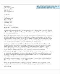 Cover Letter For Internship Position 10 Job Application Letter For