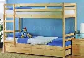 <b>Кровать Боровичи</b> детская <b>двухярусная</b> c ящиками | <b>Кровати</b> ...