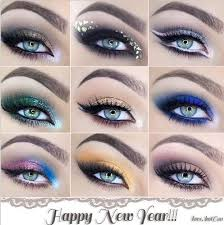 happy new year with a diffe eye makeup styles