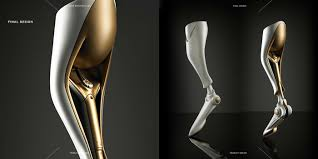 Prosthetic Design Soleis Prosthetic Leg On Behance