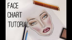 Face Chart Tutorial Karolina Matraszek Make Up Studio