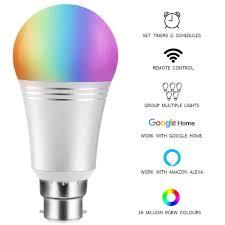 Led Lights How They Work Smart Led Light Bulb Wifi Led Lamp B22 60w Equivalent 7w