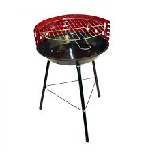round charcoal bbq grill 104007